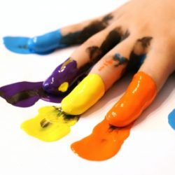 Finger Painting! Really?